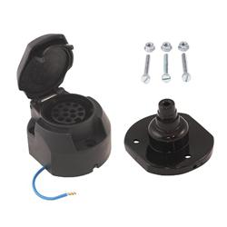 Sockets and plugs 5, 7, 8 and 13-pins Cable sockets 7 and 13-pins 12V
